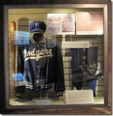 Jackie Robinson Display at the National Baseball Hall of Fame