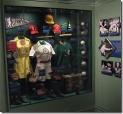 Diamond Girls Display at the National Baseball Hall of Fame