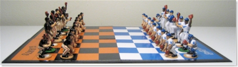 Rivalry Chess - SF v LA